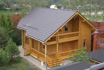 Дерев яні лазні бані будинки бесідки