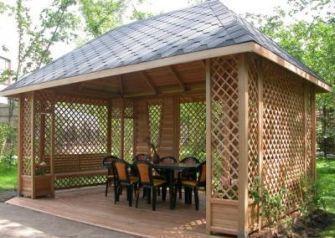 Будуємо дерев яні лазні бані будинки